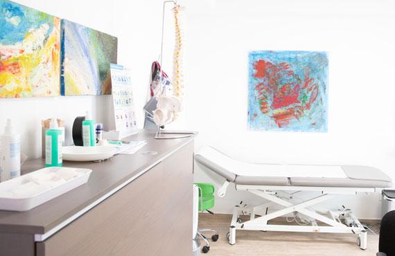 Behandlungsraum – Hausarztpraxis Hinz, Königsheide 26, 44536 Lünen