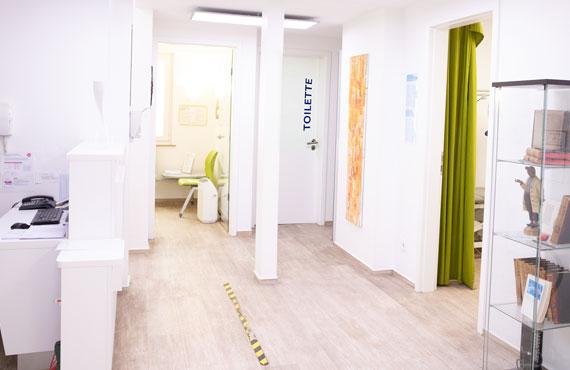 Eingangsbereich – Hausarztpraxis Hinz, Königsheide 26, 44536 Lünen